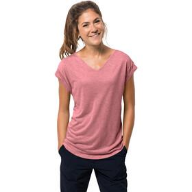 Jack Wolfskin Coral Coast T-Shirt Femme, rose quartz